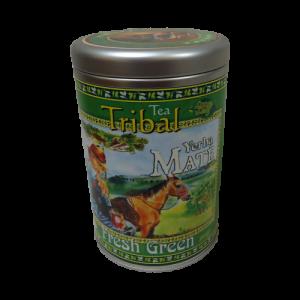 Green Maté Tea – 300gm Airtight Refillable Decorative Canister