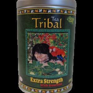 Extra Strength Maté Tea with Guarana & Acai – 300gm Airtight Refillable Decorative Canister